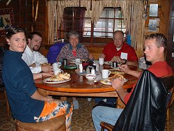 Breakfast at Moose Creek Lodge